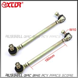 Wholesale Goes Atv - Wholesale- Chinese ATV Quad GO Kart Spare Parts 180mm Joint Ball Tie Rod Turn Shaft Assy Fit