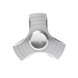 Argentina Descompresor adulto Aluminio Mano Spinner Tri Fidget Cojinete metálico Escritorio Focus KID Juguete EDC Dedo 2-5Min Suministro