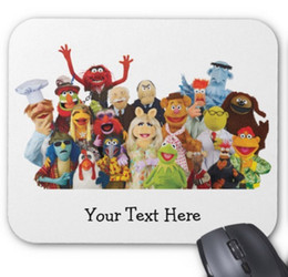 Wholesale Cartoon Rubber Mouse Pad - Rectangular non-slip natural rubber mouse mat cartoon pattern computer accessories office supplies mouse pad of gift