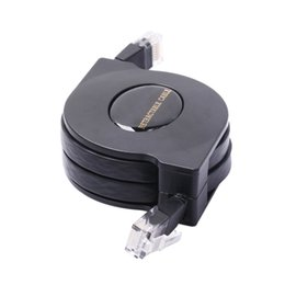 Wholesale Retractable Ethernet Cables - High Quality 1M 250 MHz Grand Cat 6 Gigabit Ethernet Retractable Network Cable Ethernet Cables FOR PC