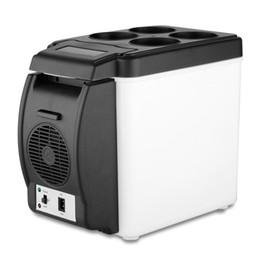 Al por mayor-Portátil Refrierator 12V 6L multifunción Home Cooler Box congelador bolsa Wamer desde fabricantes