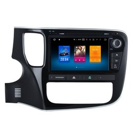 """Wholesale Mitsubishi Charger - 8"""" 2G RAM 32G ROM Octa Core Android 6.0.1 Car DVD GPS For Mitsubishi Outlander 2013+ Radio WIFI 4G RDS OBD DVR Multimedia System Recorder"""