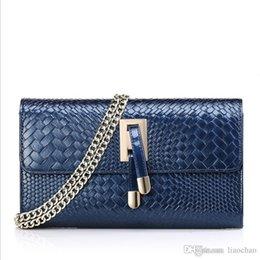 Wholesale Caviar Flap - Top quality Women Genuine Leather Shoulder Bag Classic Flap Bag Lambskin Caviar Leather Flap Bag