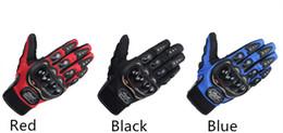 Pro-байкер спорт велоспорт перчатки анти-скольжения дышащий полный палец езда на мотоцикле гоночный велосипед перчатки защитное снаряжение от