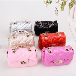 Wholesale Hot Girl Leather Bag - Hot Fashion Kids Crossbody Handbags Little Girls Novelty Gifts Toddler Purse Kid Mini Messenger Bag Children PU Leather Shoulder Bag CK094