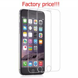 Wholesale models iphone - IN STOCK 20pcs lot 2.5D 0.33mm 9H Premium Tempered Glass Screen Protector For IPhone X 6 6s plus 5 5s 8 7 plus 7+ Mix models