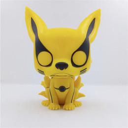 Deutschland Heiße Verkäufe Q Version 97 # NARUTO Kurama Modus Kurama PVC Anime Action-Figur 16cm Geschenkideen Versorgung