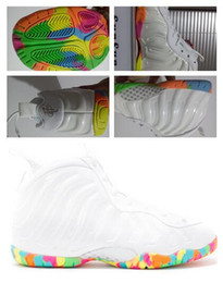 Wholesale Real Size Women - Wholesale Hot Sale Women FRUITY PEBBLES basketball shoes Penny Hardaway Outdoor athletic real shoes discount cheap sneaker size 36-40