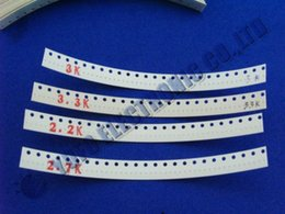 Wholesale Resistor Smt - Wholesale- Free Shipping One Lot 0201 SMD SMT Assorted Chip Resistor kit 106values each 50pcs strip cut pack