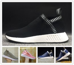 Wholesale Women Snow Boots Size 11 - New Arrive NMD x Naked x Kith Running Shoes Men Women Knit Breathable NMD PK CS2 Sock Primeknit Sneakers Athletic Shoes Size 5-11