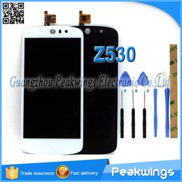 "Wholesale Apple Acer - Wholesale- Test one by one 5.0"" inch 1280*720 LCD For Acer Liquid Z530 LCD Display+Digitizer Panel Screen Assembly+Tools+3M Sticker+Track"