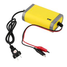 Wholesale Rechargeable Volt Batteries - Wholesale-12V 2A Intelligent auto Car Battery Charger Voltage Rechargeable Battery Power Charger 220V Automatic Power Supply