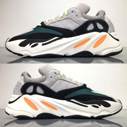 Wholesale Grey Table Runners - Coveted Boost 700 Wave Runner at Season 5 in Solid Grey Chalk White-Core Black. Kanye West Boost Shoes models Navy Cream,Triple Black