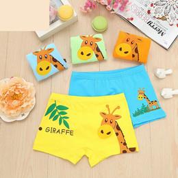 Wholesale Boxer Children - New 2017 High Quanlity 4 Pcs Lot Kids Cartoon Cotton Briefs Boy Panties Boxer Children Clothing