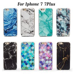 Dyefor Faux Marbre Bleu Gris Housse Case TPU Pour Iphone X 8 / 8plus 7/7 Plus 6/6 s Plus 5 / 5S Téléphone Case ? partir de fabricateur
