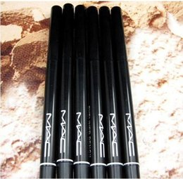 Wholesale 12 of specialized cosmetics brand rotating scalable black and brown eyeliner beauty pen pencil eyeliner
