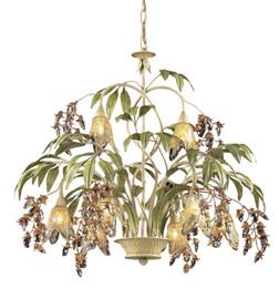 Wholesale Vintage Lustres - Creative Nordic Style Iron Vintage Chandeliers Lights Crystal deco Chandelier Lamp Lustres De Cristal Dinning Hotel Lighting