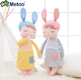 "Wholesale Girl Cute Years - Lovely Metoo Plush Doll 13"" 32CM Cute Bunny Rabbit Plush Stuffed Toy Girls Lovely Gift 1PCS"