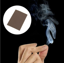 Wholesale Smoke Trick - Magic Prop Smoke From Finger Somking Tips Trick Surprise Prank Joke Hell Smoke Mystical magician Fun Toys