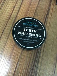 Wholesale Tooth Staining Teeth - 60gTooth Whitening Nature Bamboo Activated Charcoal Smile Powder Decontamination Tooth Yellow Stain Bamboo Toothbrush Toothpaste Oral Care