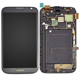 Wholesale Galaxy Note Digitizer I317 - 100% Tested Original Gray LCD Screen for Samsung Galaxy Note 2 N7105 N7100 T889 i317 i605 L900 LCD Digitizer Assembly