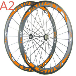 Wholesale Cheap Carbon Bike Wheels - Free shipping china road bike wheels front 38mm rear 50mm cheap bicycle wheels 700C full carbon cycling wheels with powerway hubs in stock