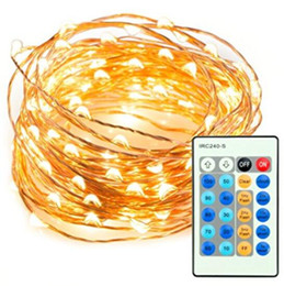 Wholesale Decoration For Patio - NEW 10m 33ft 100 LED String Lights Dimmable with Remote Control, TaoTronics Waterproof Decorative RGB Lights for Bedroom, Patio, Garden,