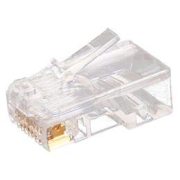 Wholesale Rj45 Jacks - Wholesale- 10pc Clear RJ45 CAT5 8P8C Modular Jack Network Connector Adapter Card