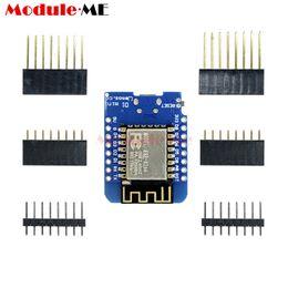 Wholesale Mini Voltage Regulator - Wholesale- ESP8266 ESP-12 USB WeMos D1 Mini WIFI Development Board D1 Mini NodeMCU Lua IOT Board Based On ESP-8266EX 11 Digital Pins 3.3V