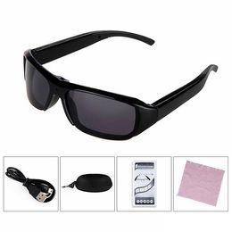 Wholesale Eyewear Spy Sunglasses Camera - HD 1080P Spy SunGlasses camera Video Recorder Eyewear DV Cam Mini sports Sunglasses Camera Portable Camcorder Security Camera