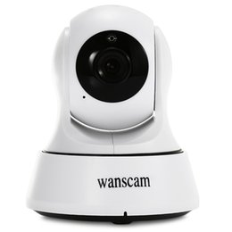 Wholesale Wireless Security Cameras Usb - DHL WANSCAM 720P Wireless IR Camera WiFi H.264 Indoor IP Security IR-Cut Night Indoor USB Charger P2P Surveillance Security Camera