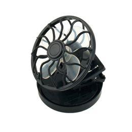 Wholesale Sun Panels Energy - energy saving Clip-on Solar Cell Fan Sun Power energy Panel Cooling Black Portable