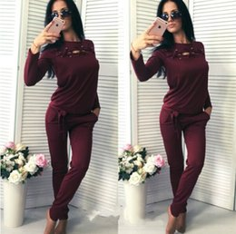 Wholesale Ladies Baseball Jackets - 9285# 2017 spring new women's fashion sportswear autumn sports and leisure long-sleeved jacket lady sports suit