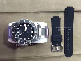 Wholesale Complete Wind - Gift Rubber Strap KW Factory Mens Automatic Eta 2824 Titanium Watch Men 25500TN Rotor Luminous Self Winding Dive Date Pelagos Swiss Watches