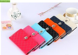 Wholesale Wholesale Case For Note2 - Card Pocket Fashion PU Leather Flip Stand Phone Case with Card Slot for iPhone 7 7 Plus 6 6s plus Samsung Note2 3 4 5