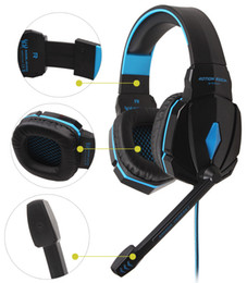 Wholesale Original Pro Headphones - Original EACH G4000 Pro Gaming Headset Stereo Sound 2.2M Wired Headphone Noise Reduction Fone with Microphone for Phone PC Gamer