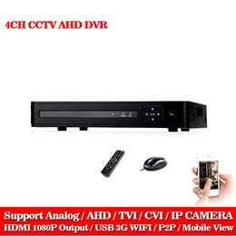 Wholesale Analog Hybrid - LLNIVISION Multifunctional AHD-NH DVR Hybrid DVR 1080P NVR Video Recorder CCTV AHD DVR 4CH 1080P For AHD Analog Camera IP Camera