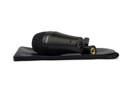 Batterie microfoni online-Microfone Nuovo Boxed PGA52 Professionale Kick Drum Bass Instrument Microfono dinamico PGA Sound System per Stage Show Studio