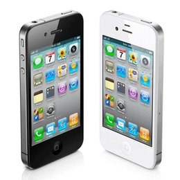 Wholesale 4s Unlock - Refurbished Apple iPhone 4S 64G ROM 3.5inch Screen 5.0MP Camera Dual Core Factory Unlocked Smartphone
