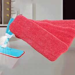 Wholesale Microfiber Mops - 3pcs lot Water Replacement Mop Head Replaceable Mops Cloth Microfiber Mop Head For Home Floor Cleaning Tools ADK0021