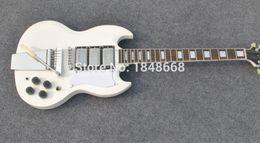 Wholesale Custom Jazz Guitars - Wholesale SG Guitars,SG white guitars china Jazz guitar 3 pickups sg custom electric guitar