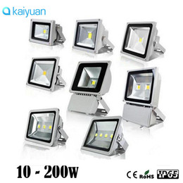 wall spot light white Coupons - new open AC85- 265V 10W 20w 30w 50W 70w 100w 150W 200W LED flood light spot light projection lamp Signs lamp Waterproof outdoor floodlightS