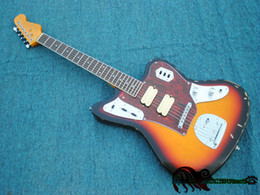 Wholesale Electric Guitar Jaguar Sunburst - China Guitars Nwqwar Aged Jaguar Electric Guitar Rosewood Fingerboard High Quality Cheap