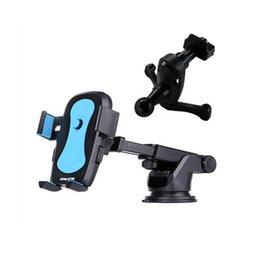 Wholesale Iphone Bracket For Bicycle - Practical Bicycle Accessories Handlebar Clip Mount Bracket Mobile Phone Bike Holder Stand For iPhone Samsung Smart Phone