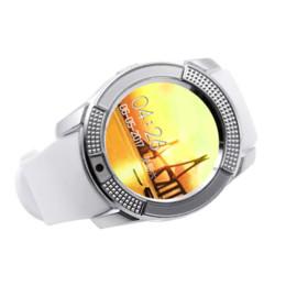 HOK Bluetooth Sport Smart Watch V8 Wearable Dispositifs Électronique SIM TF Carte HD Circulaire Écran Intelligent Bracelet Pour Android ISO ? partir de fabricateur