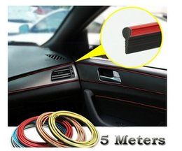 Wholesale Decorative Thread Sticker - Car Styling Car Stickers And Decals Interior Decorative Thread Car Sticker Decoration Type Decoration Strip Color Car-Styling 196.9in
