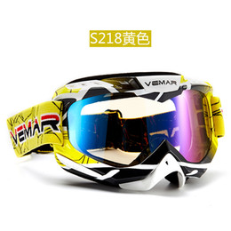 Wholesale Motocross Glasses - Newest Motocross Goggles Glasses Cycling MX off road Helmets Ski Sport Gafas Oculos Motorcycle Dirt Bike Racing Goggles