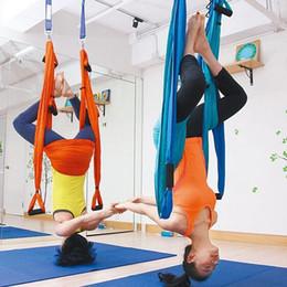 15 colori Forza Decompressione yoga Amaca Inversione Trapezio Anti-gravità Trazione aerea Yoga Hamak Fascia da palestra yoga Altalena da swing inversione yoga fornitori