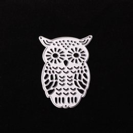 Wholesale Decorative Stamps - DC-377 Owl Metal Cutting Dies for DIY Scrapbooking Stamp photo album Decorative Embossing DIY Paper Cards