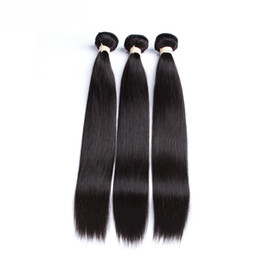 Wholesale Selling Bag Machine - 7A Brazil the best hair braided bag #1b Natural color 100 g PC 4 PCS real manufacturers selling straight